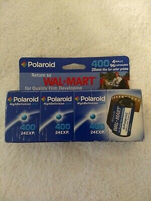 Polaroid 35mm HighDefinition 400 Film New Old Stock Expiration 11/2005 96 Exp