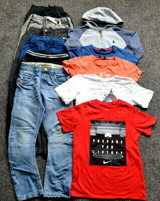 Next George Boys Bundle Clothes 8-9 Years T-Shirts Joggers Jeans