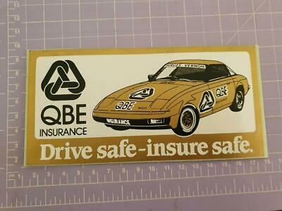 QBE Insurance Sticker 17cm x 9cm approx As per image