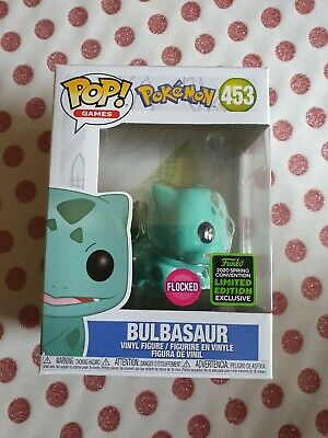 funko pop pokemon Bulbasaur flocked eccc 2020 not coming out in uk new