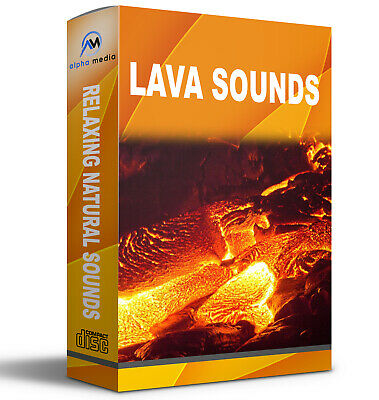 Relaxing Nature Sounds Lava sound, Bubbling lava sound CD