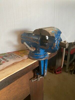 Small Engineering Vice With Anvil Collectables