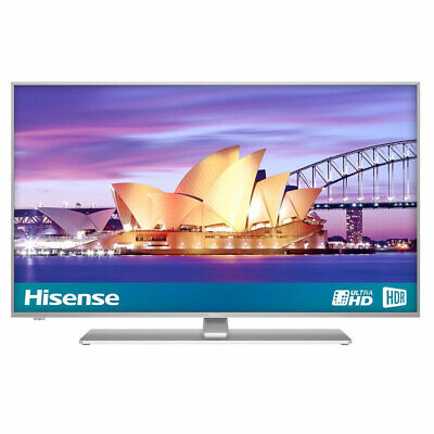 Hisense H43A6550UK 43 Inch Smart 4K Ultra HD TV With HDR Freeview Play Silver