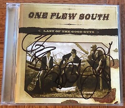 Last of the Good Guys One Flew South CD Autographed Signed