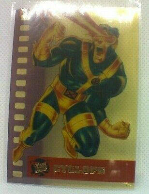 Fleer Ultra X-Men (1995) Suspended Animation Chase Card #2 - Cyclops