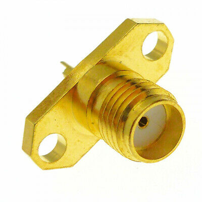 SMA Female Chassis Socket RF Coax Connector