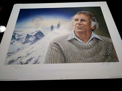 Mount Everest James Lumbers Signed /& Numbered Limited Sir Edmund Hillary