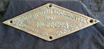 Railway Plate reproduction