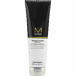 PAUL MITCHELL MEN by Paul Mitchell , MITCH DOUBLE HITTER SULFATE FREE 2-IN1