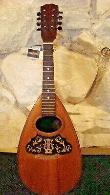 Vintage Osborne Mandolin, Needs Work! Brazilian Rosewood Bowl, PROJECT!!!