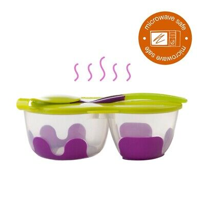b.box Snack Pack Grapeamara / Food Storage With Spoon(offer combined postage)