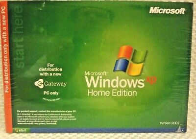Sealed with CD /& COA Never Used OEM Microsoft Windows XP Home Edition w// SP3