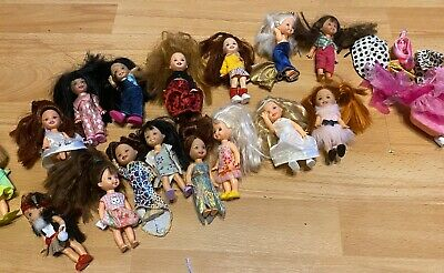 Collection Of 16 Mini Barbie Kelly Dolls 1994