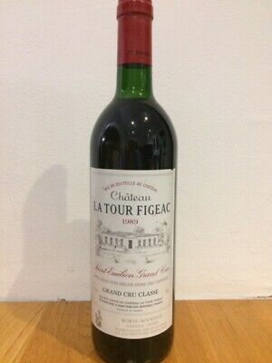 La Tour Figeac 1989 Saint Emilion Grand Cru