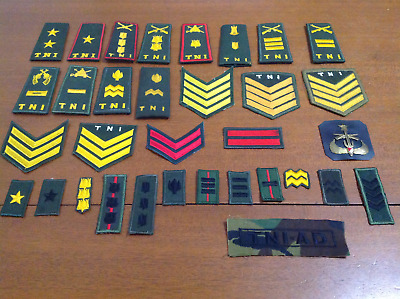 Indonesian Armed Forces Badges/Slides/Patches x 39-circa 1990s-obsolete-surplus.