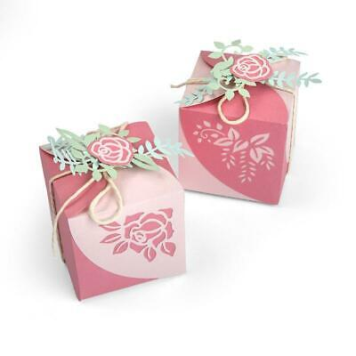 Decorative Favour Box by Olivia Rose Sizzix Thinlits Stanzer Set 4tlg