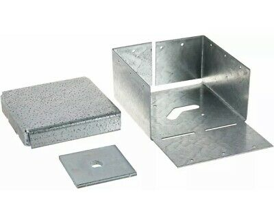 3 Pack New Simpson Strong Tie Abw66Z Galvanized 12-Gauge 6 By 6 Post Base Deck