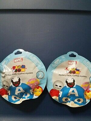 Tsum Tsum Marvel Series 5 Mystery Packs Brand New//Sealed Your Choice
