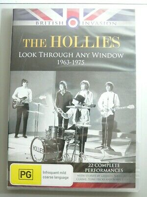 The Hollies Look Through Any Window 1963-1975 DVD, New & Sealed AUS release