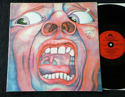 """King Crimson """"In The Court Of The Crimson King"""" German Press"""