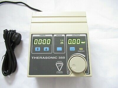 EMS THERASONIC 350 SINGLE FREQUENCY 1MHz ULTRASOUND THERAPY TREATMENT UNIT UK
