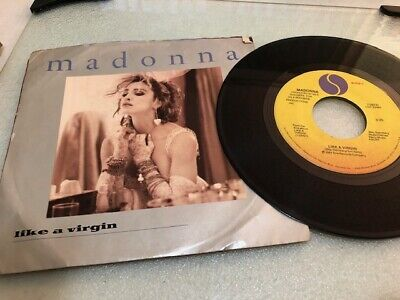 45 Rpm - Madonna - Like A Virgin - With Picture Sleeve