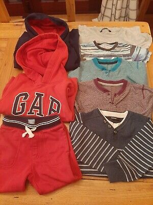 Boy's 4 - 5 Year Bundle Gap Next George Joggers Hoodies T Shirts jumper 8 items!