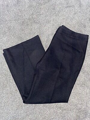 womens dorothy perkins size 18 Black Trousers Smart Work Special Occasion VGC