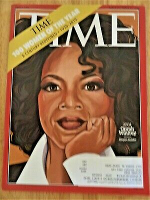 OPRAH WINFREY TIME Magazine March 2020:  100 Women of the Year, 1920-2019