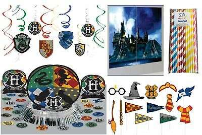 HARRY POTTER SCENE SETTER Party Wall Decoration Photo Booth Props Hogwarts Crest