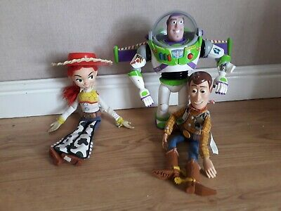 Toy Story Bundle Talking Pull String Woody Jessie AND Buzz Lightyear PLEASE READ