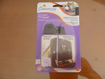 Dreambaby Flat Screen TV Saver Durable Straps - New