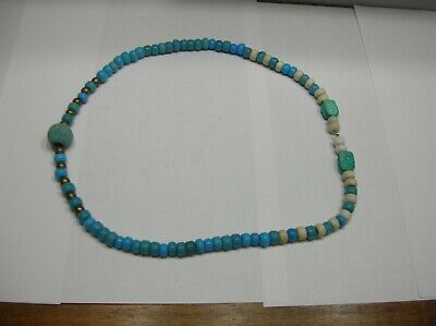 Egyptian Original 'Melon Bead' With Necklace