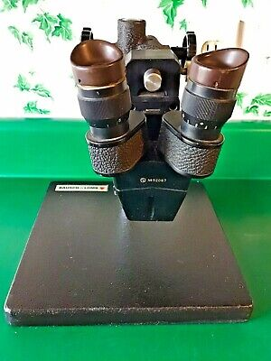 Stereo Zoom Microscope w/Bausch & Lomb Stand