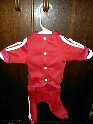 Adidog Pet Clothes for Dog  Puppy Hoodies Coat Large looks small