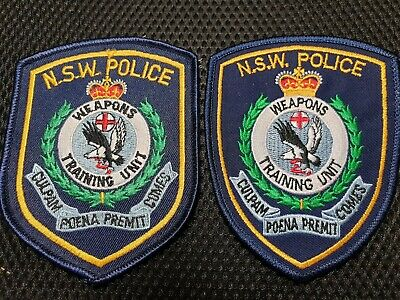 Police NSW patch