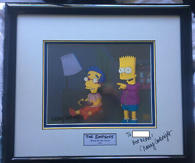 The Simpsons Animation Art - Marge Be Not Proud - Bart & Milhouse