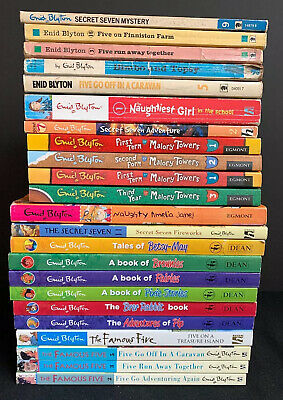 Enid Blyton Paperbacks x 20+ job lot (Famous Five and Others)