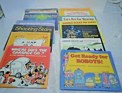 13 Lets Read and Find Out Science Books - Hardcover Assorted Titles Incl. Germs