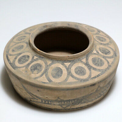 Stunning - Ancient Indus Valley Terracotta Decorated Pot 1900-1000 Bc