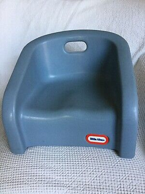 Vintage Little Tikes Blue Booster Seat Chair with Handle