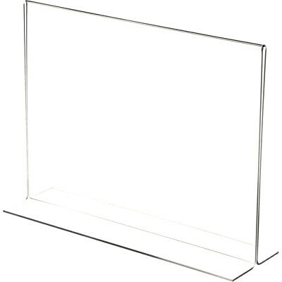 """Plymor Clear Acrylic Sign Display/Literature Holder (Bottom-Load), 12"""" W x 9"""" H"""