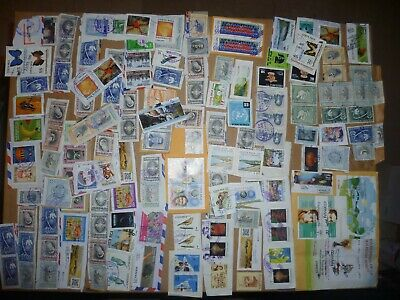 40 grams mixtures Costa Rica stamps on single paper kiloware