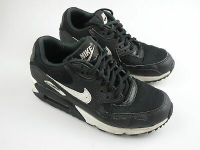 Boy's Girl's NIKE 'Air Max 90' Sz 6 US Shoes Black White VGCn | 3+ Extra 10% Off