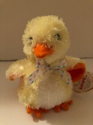 BBOM March 2004 TY Beanie Baby - MWMTs PEEPERS the Chick 4.5 inch