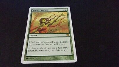 MTG EIGHTH EDITION Natural Affinity