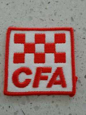 Country Fire Authority Victoria  .. Cfa Square  Patch .. Fire Service