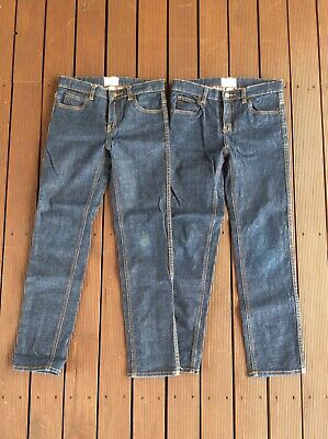 Country Road 2 Pairs Boys Classic Jeans Size 10, EUC!