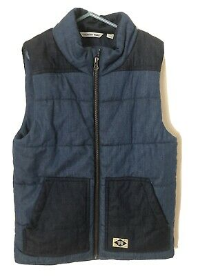 Country Road Two Tone Boys Vest Sz 12