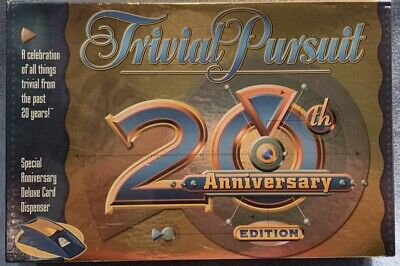 New Trivial Pursuit 20th Anniversary Edition 2002 - Used